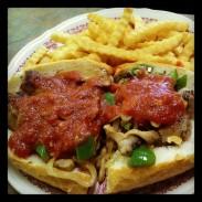 Italian Sausage Sandwich Special