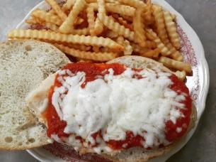 Grilled Chicken Parm Sandwich