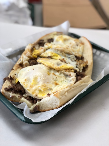Steak, Egg & Cheese