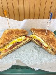 Bacon, Egg & Cheese Sandwich