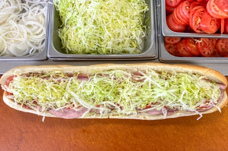 Large 24 inch Italian Hoagie
