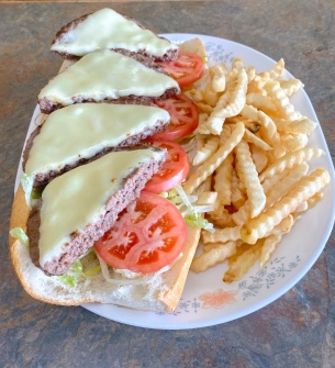 Cheeseburger Hoagie