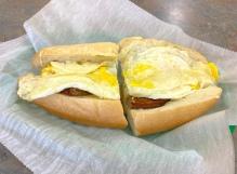 Sausage Egg Cheese Sandwich