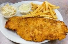 Fried Flounder Platter